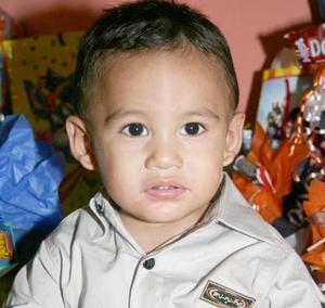 Ángel Fernanado Medina González, captado el día que festejó su primer cumpleaños.
