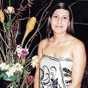 <u><i> 25 de Septiembre de 2004</u></i><p>  America Rangel Gutiérrez el día de su despedida de soltera