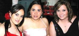 Alicia Fernández, Dulce Ríos y Mariana Fernández.