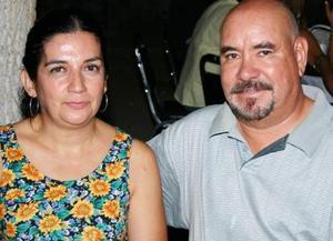 Rosario de Sierra y Raúl Sierra.
