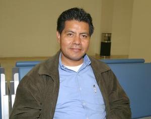 Fernanado García López regresó con destino a la Ciudad de México.