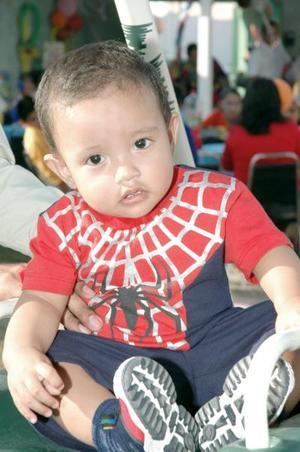Luis Diego Arteaga López festejó su primer año de vida, con un convivio infantil organizado por sus papás