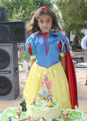 Debany Esmeralda Torres Cruz, captada el día que festejó su sexto cumpleaños