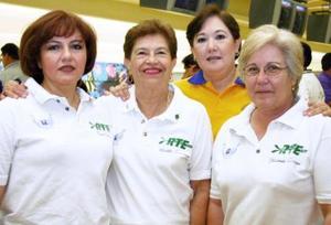 Yolanda Zamora, Gemma Cárdenas, Martha Samaniego y Paty Pámanes.