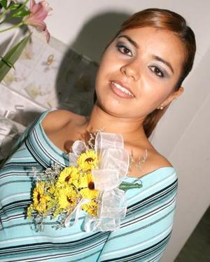 Elba Mariana Lara Gándara contraerá matrimonio con Alejandro Sifuentes Mota, el próximo dos de octubre.