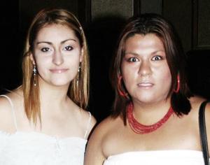<u><i> 30 de septiembre de 2004</u></i><p>   Joana de Villé y Cihthia Rodríguez