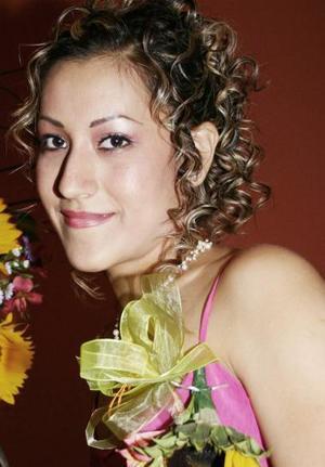 <u><i> 30 de Septiembre de 2004</u></i><p> Ana Luisa Silva Pérez, captada en su despedida de soltera