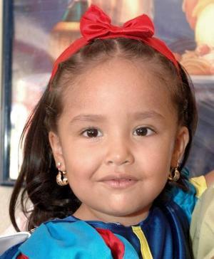 Andrea Yamile Soto Ávila celebró sus tres años de vida.