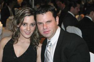 Melissa Mijares y Alfonso Ornelas.