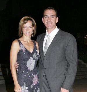 Lorena Valdés y Hugo Olliver.