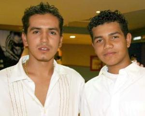 Ismael y José Álvarez.