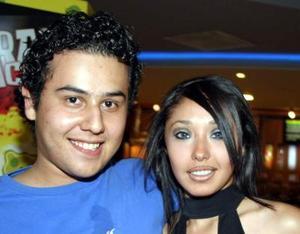 Mario Rodríguez y Lizeth Sosa.