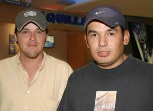 Martín Juárez y César Núñez.
