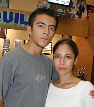 Luis Fernando Ávila y Jeudo Paolina Moreno