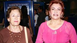 María Cristina Castro e Isabel Núñez de Nevárez.