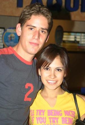 Juan Cepeda y Lilia Reyes.