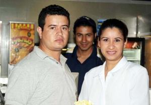 Marcela Dávila y Gerardo Becerra.