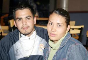 Mely Martínez y Ricardo Trejo.