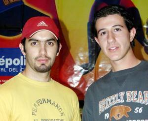 Andrés González y Luis Rosas.