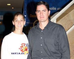 Lorena y Francisco Porragas.