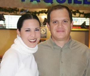 Michelle y Gustavo Mijares.