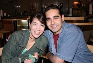 Mirena Pérez y William Wiegand