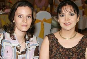 Paty Alonso y Alejandra de Mendoza.