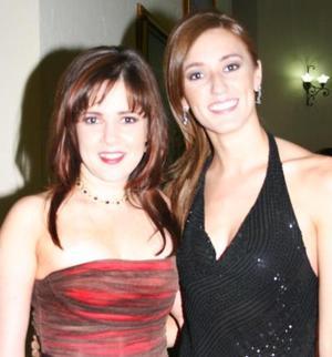 <u><i> 01 de octubre de 2004</u></i><p>  Scarlett Murra y Cristina Sánchez.-