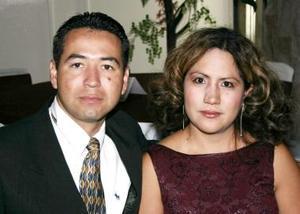 Alejandro Cordero y Elizabeth Trujillo.