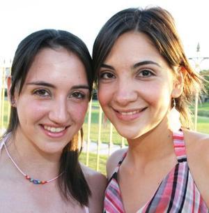 Julieta Sánchez y Lorena Anaya.