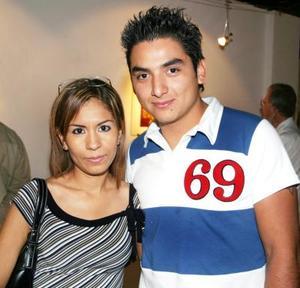 Leticia Niave e Israel Castillo López.