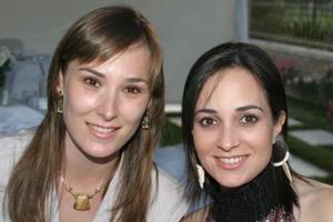 Rosario  sirgo y Lucila Hernández.
