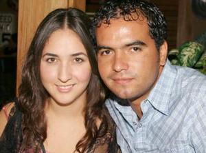 Bárbara Muñoz y Edmundo Estrada.