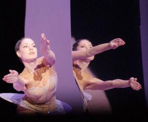 Los bailarines dieron muestra de un gran dominio en la expresión corporal, una comunión con su cuerpo y con el entorno, que sólo se logra con años de práctica en la academia.