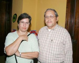 María Rosario Quiiñones de B. y Salvador BOrsa
