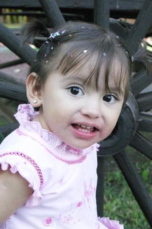 Cecilia Alejandra García Orozco, captada en reciente festejo infantil