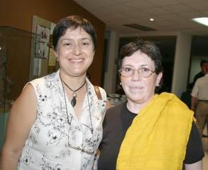 Silvia Castro y María del Refugio Lozano