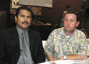 Jorge Guerero y Leo Cervantes