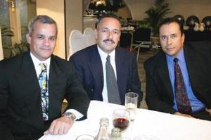 Juan Pablo Ramírez, Javier Martínez y Javier González