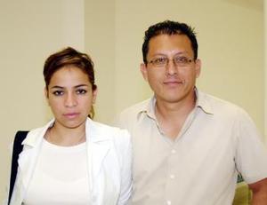 Alejandra González y Rodolfo García viajaron a Atlanta