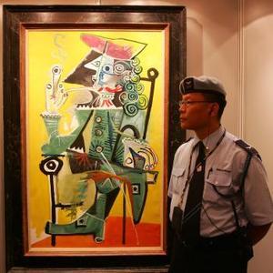 En el lote destacan también varios lienzos de los pintores españoles Picasso (la foto muestra una de sus obras) y Miró, así como trabajos de Cezanne, Degas, Sisley, Bonnard y Matisse.