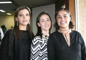 Lizeth Ontiveros, Ana Lucía Fernández y Érika Valdés..