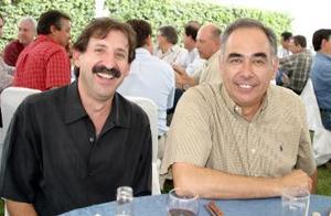 Agustín Anaya y Gerardo Martínez