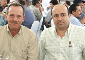 Alberto Díaz de León y Alberto Martínez