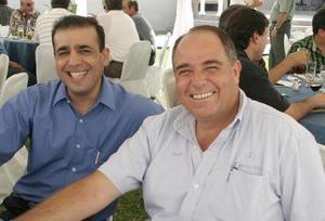 Alberto López González y Benjamín Navarro