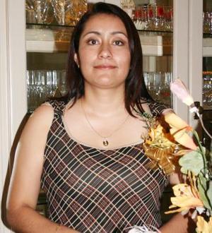 Miroslava Meza Salas disfrutó de una despedida.