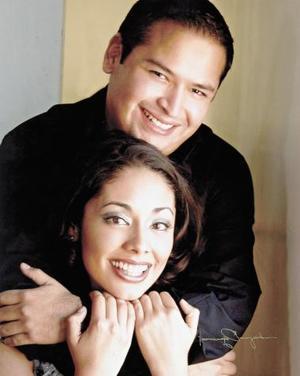 <u><i> 09 de octubre de 2004</u></i><p>  Omar Alfonso Luján y Consuelo Ramos.