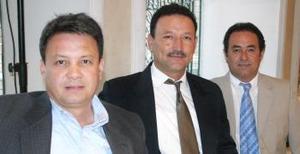 Enrique Silveyra Pereyra, Gustavo Guerrero Valles y Martín Medina Ceniceros.