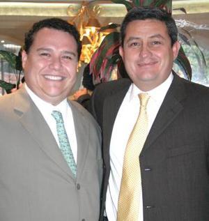 <u><i> 09 de octubre de 2004</u></i><p>  Francisco Martínez y Benjamín Tumoine.