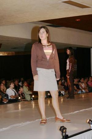 Las nuevas tendencias para este Otoño-Invierno 2004 fueron presentadas en una tarde de moda y belleza por la compañía Comercial Cimaco.